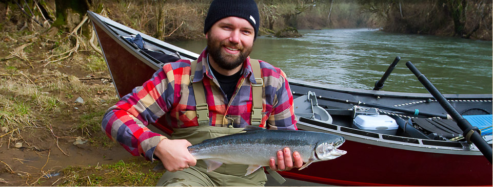 Or head up stream for fantastic steelhead fishing